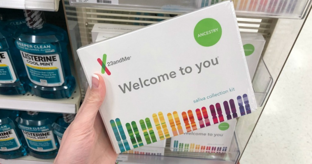 $100 Off 23andMe DNA Test + Health & Ancestry Kit on Amazon