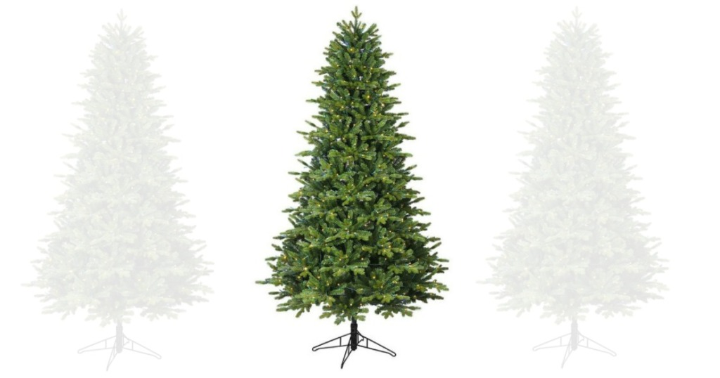 GE 7-ft Pre-lit Artificial Christmas Tree Only $98 Shipped