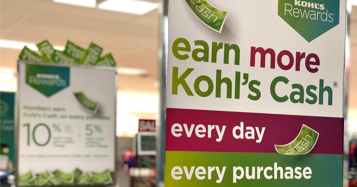 new kohls rewards kohls card – All New Kohl's Rewards Program
