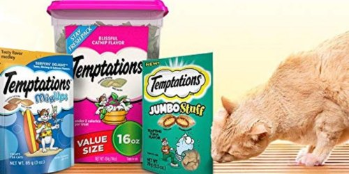 Amazon: Temptations Cat Treats 6-Pack Bags Only $4.78 Shipped (Just 80¢ Each) + More