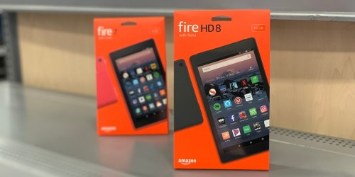 TWO Amazon Fire HD 8 16GB Tablets Only $79.98 Shipped – Just $39.99 Each