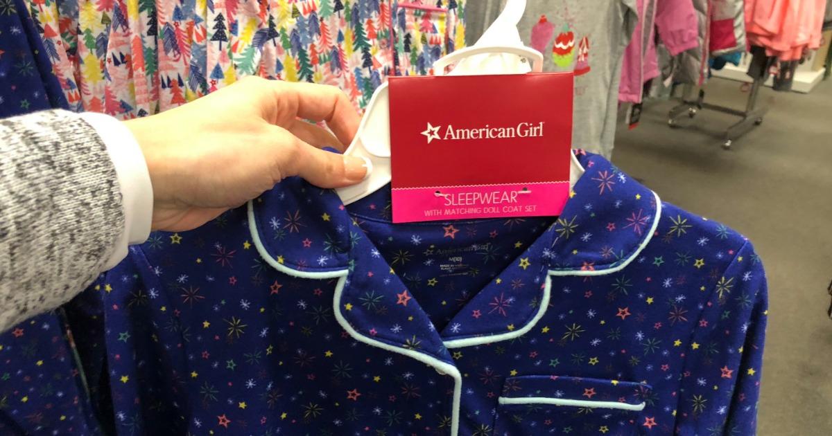 3b8ef3495 American Girl Pajamas   Matching Doll Pajama Sets as Low as  10.84 Shipped  (Regularly  34+) at Kohl s
