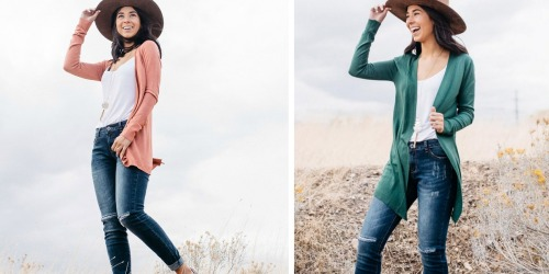 Lightweight Cardigan Just $15.95 Shipped (Regularly $35)