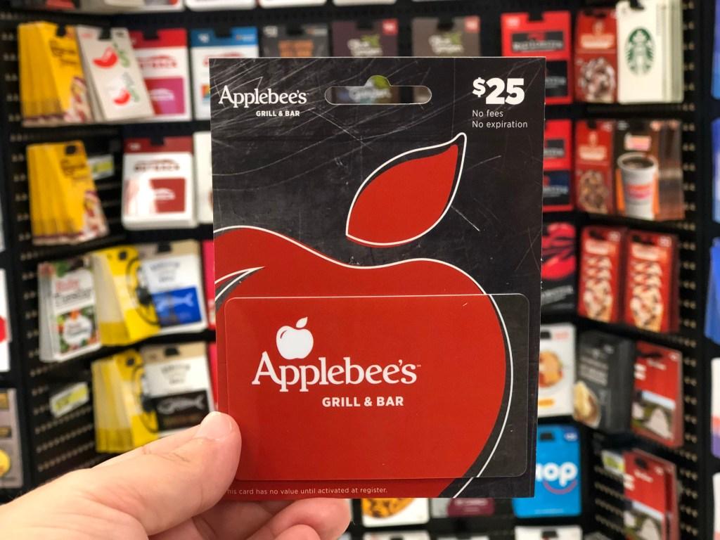 Applebee's Gift Card offer