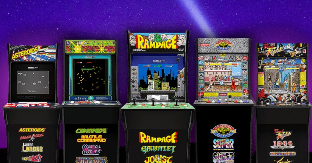 Classic Video Game Arcade Machines Just $209 99 Shipped at