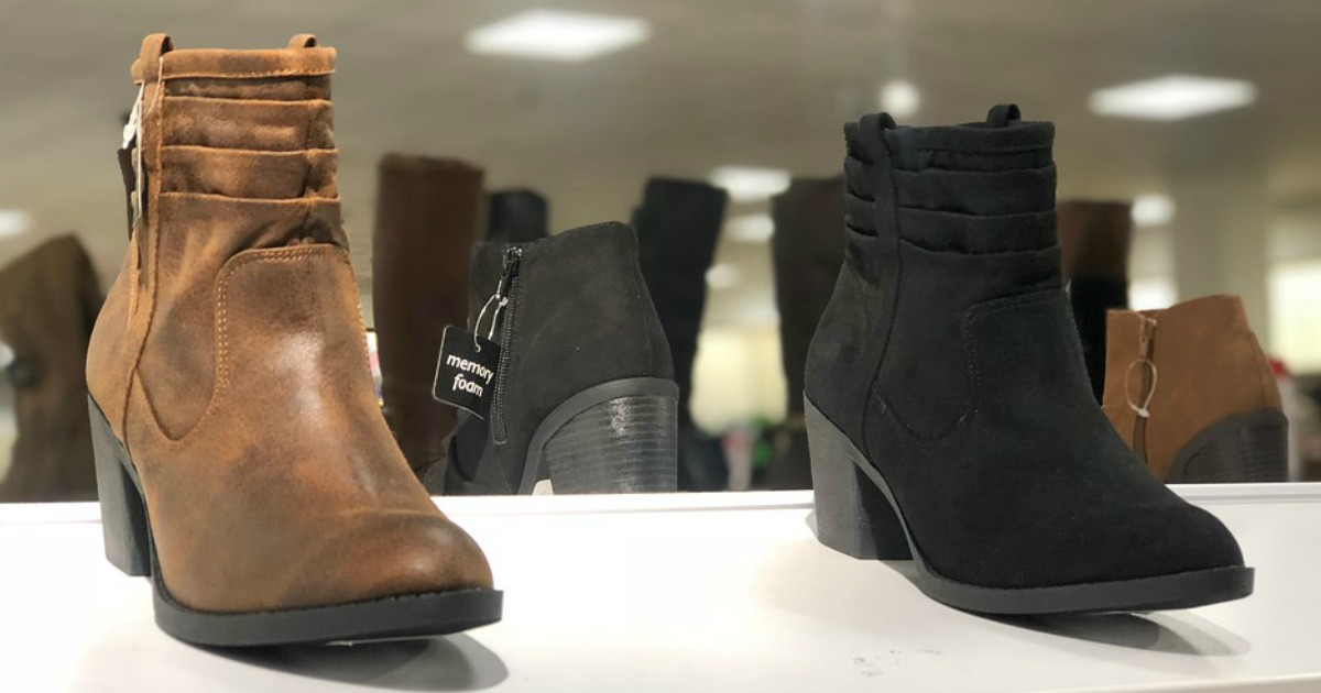 Buy 1 Pair of Boots & Get 2 FREE Pairs at JCPenney