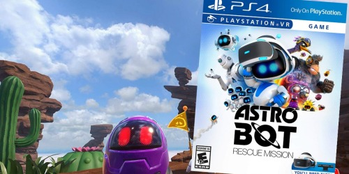Astro Bot Rescue Mission PlayStation VR Game Only $19.99 Shipped (Regularly $40)