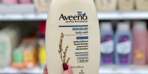 Amazon: Aveeno Skin Relief Fragrance-Free Body Wash 33oz $6.48 Shipped + More