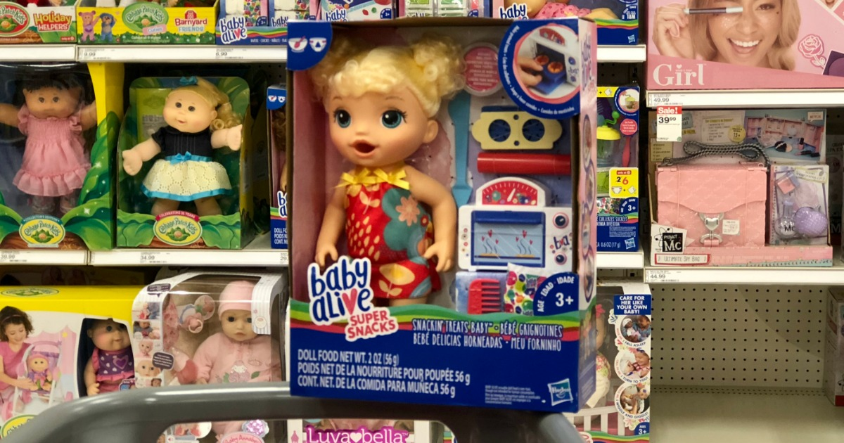 Up To 50 Off Baby Alive Dolls Amp Accessories At Target