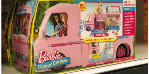 Barbie Dream Camper Playset Just $72 Shipped (Regularly $110) – Today Only