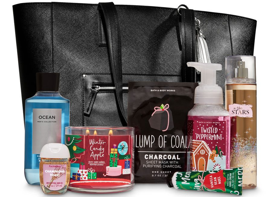 Bath Amp Body Works Black Friday Tote Available Now Only