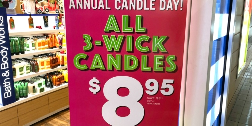 Get Ready! Bath & Body Works Annual Candle Day is Happening December 7th!