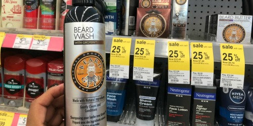 Rare $3/1 Beard Guys Product Coupon = Up to 85% Off After Cash Back at Walgreens
