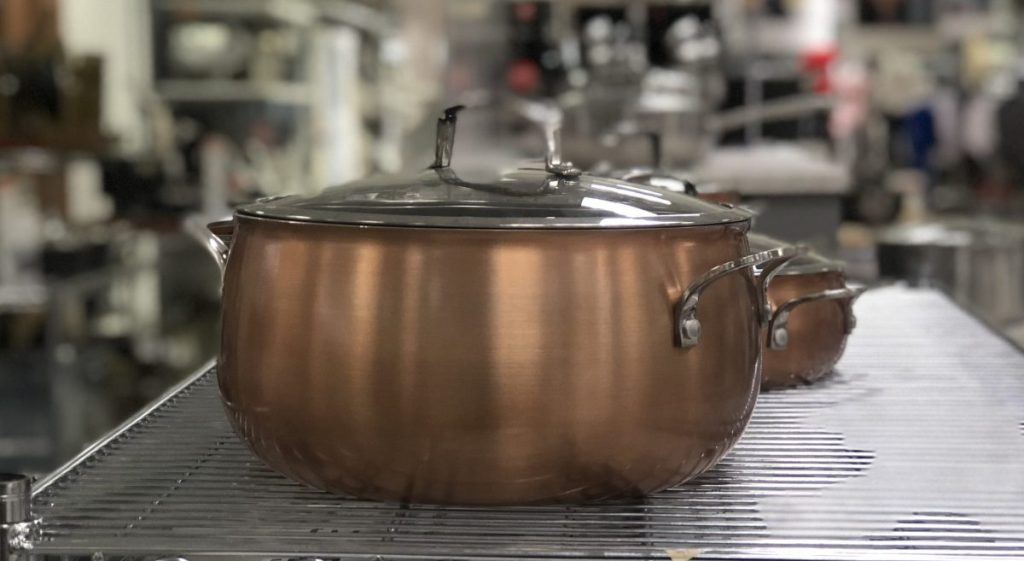 Belgique copper pan at Macy's