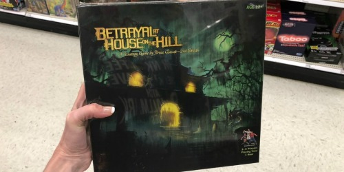 Betrayal At House on the Hill Strategy Board Game Only $20.99 (Regularly $50) + More