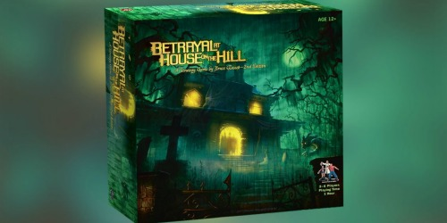 Betrayal At House on the Hill Strategy Board Game $26.39 Only Shipped (Regularly $50)