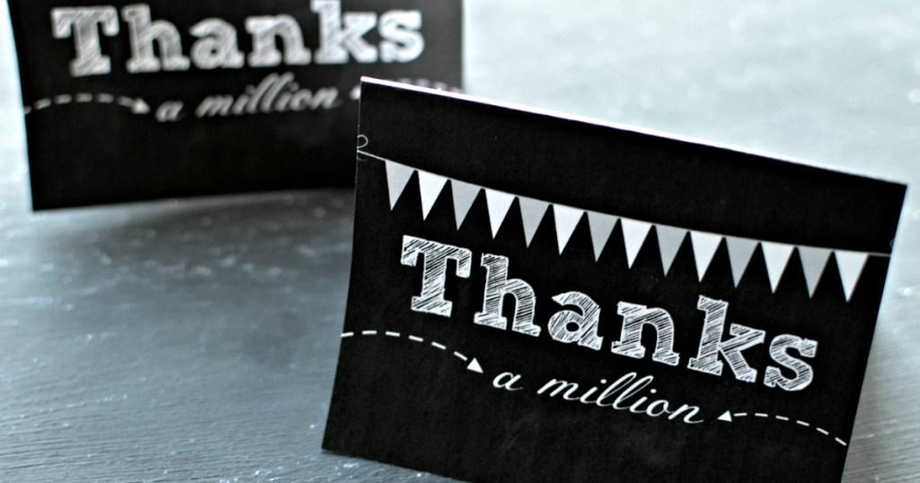 Big Thank You Giveaway Winners