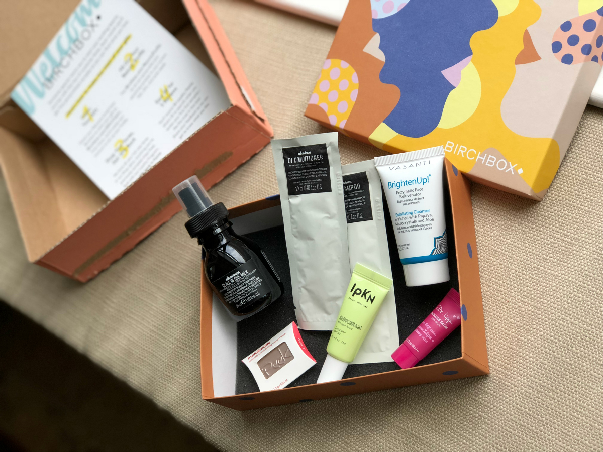 Birchbox monthly box