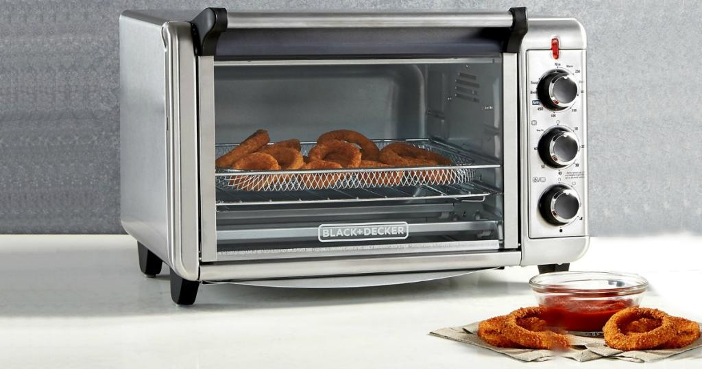 Macy S Black Amp Decker Air Fry Toaster Oven Only 59 99