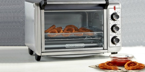 Macy's: Black & Decker Air Fry Toaster Oven Only $59.99 (Regularly $100) Black Friday Price