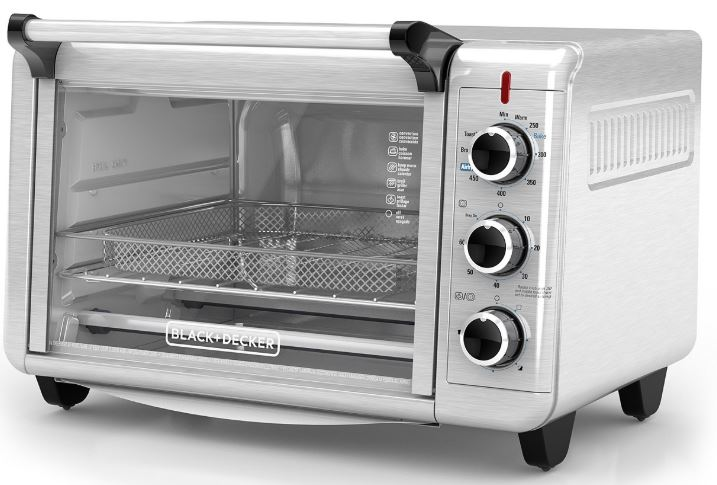 Macy S Black Decker Air Fry Toaster Oven Only 59 99 Regularly 100 Black Friday Price Hip2save