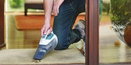 Black+Decker Dustbuster Cordless Hand Vacuum Only $24.99 Shipped