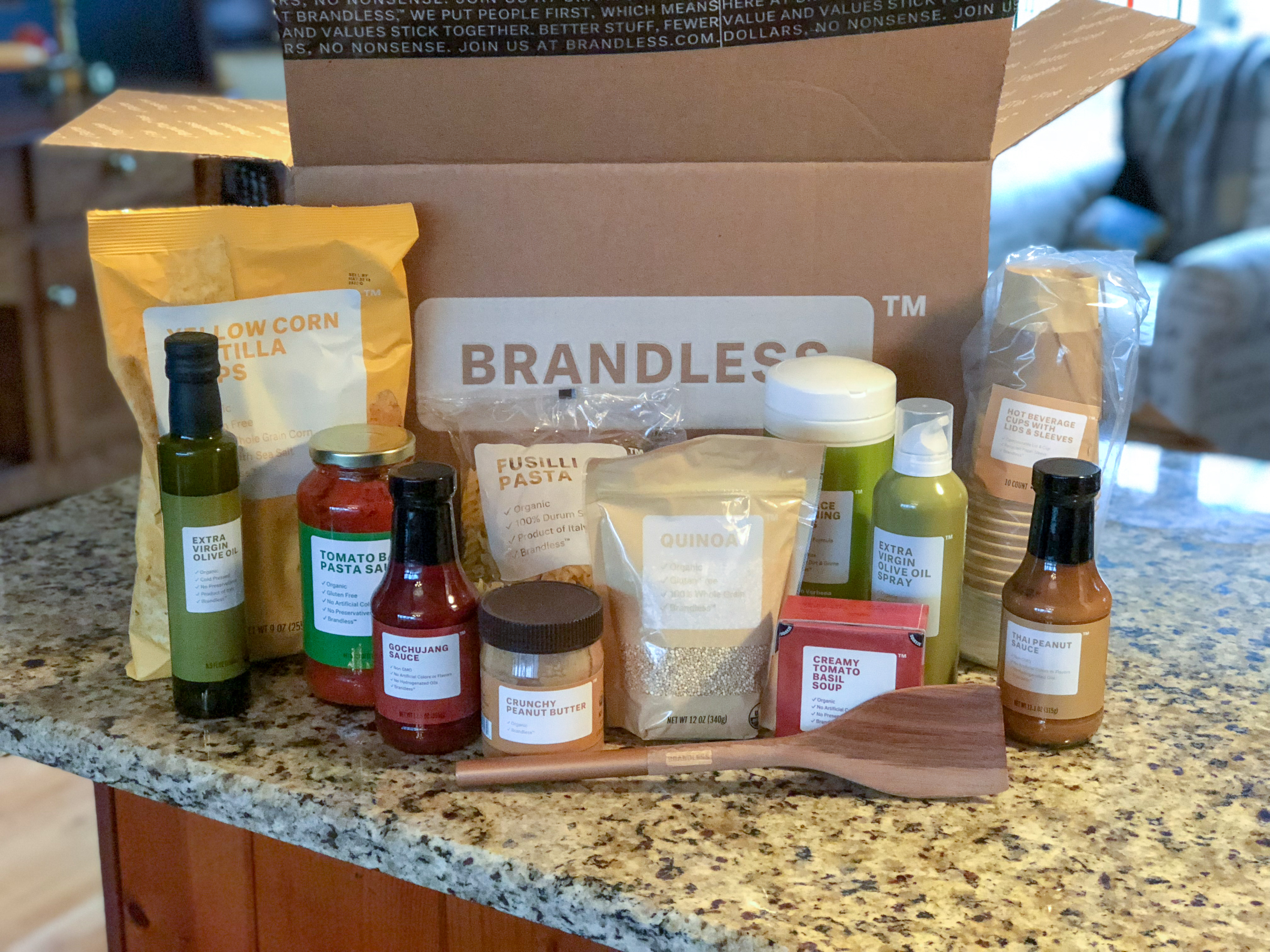 brandless essentials 3 each – Brandless items box