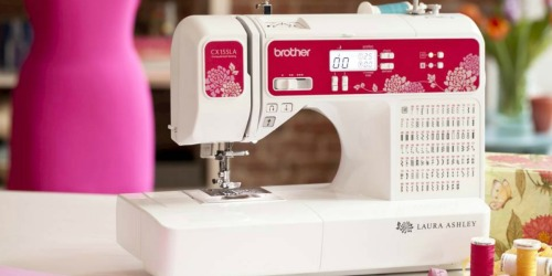 Amazon: Brother Laura Ashley Sewing & Quilting Machine w/ Accessories Only $169 Shipped