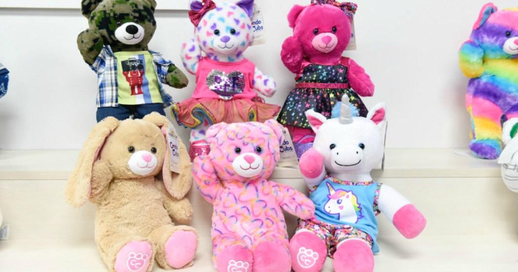 Build-A-Bear Condo Cubs in Walmart