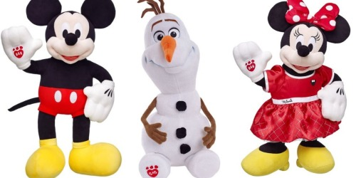 Up to 60% Off Build-A-Bear Disney Items