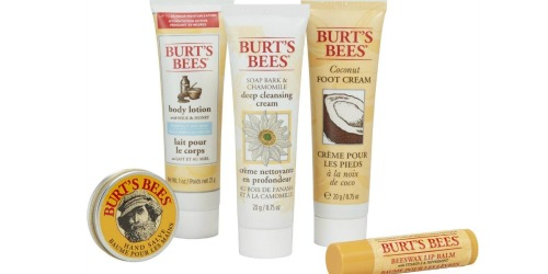 Burt's Bees Essential Everyday Beauty Gift Set Only $7.49 Shipped (Includes FIVE Products)
