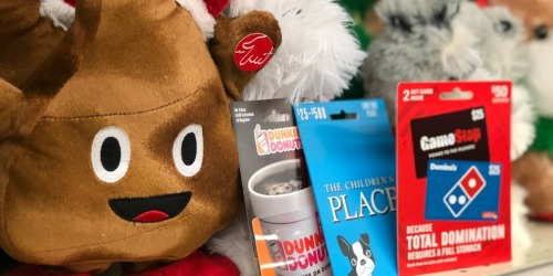 Discounted Gift Cards After CVS Rewards (Dunkin Donuts, GameStop, Domino's, & More)