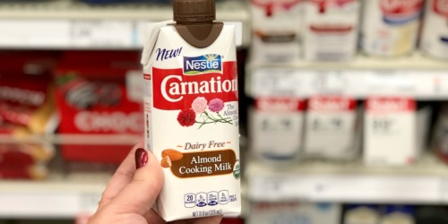 Carnation Cooking Milks Only $1.75 at Target (Just Use Your Phone)