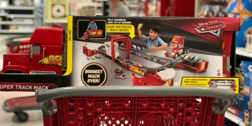 Disney Pixar Cars Super Track Mack Playset Only $48 at Target (Regularly $100) + More