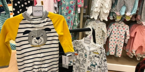Carter's Sleep & Plays as Low as $3.49 Shipped (Regularly $18) + More Baby Deals at Kohl's