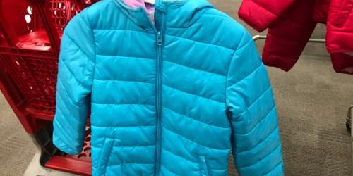 Cat & Jack Kids Puffer Jackets as Low as $8.93 Each Shipped