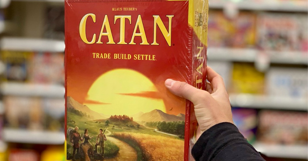 best board card games kids adults families – Catan