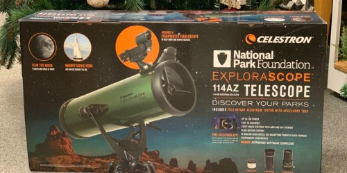 Celestron National Park Foundation Telescope Just $74.99 Shipped + Get $10 Kohl's Cash