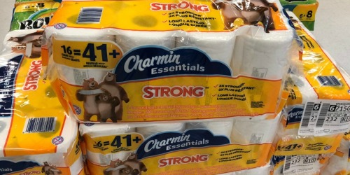 Charmin Essentials 16 GIANT Rolls Only $5.74 Each After Rite Aid Rewards