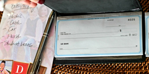 Custom Checks Just $6.99 Shipped Per Box + FREE Address Labels