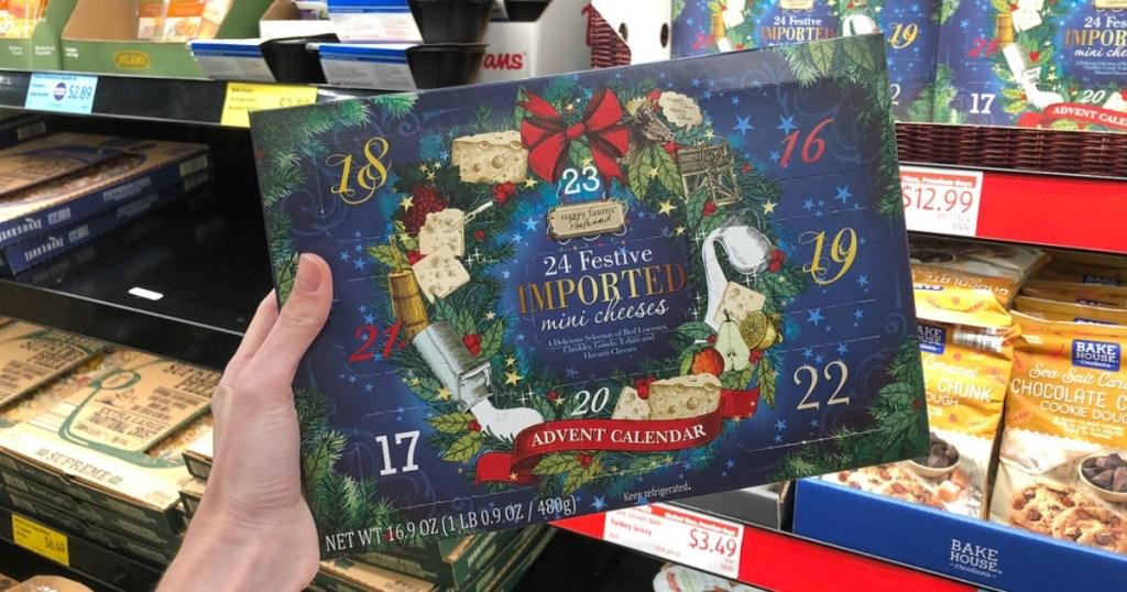 Aldi Cheese Advent Calendar.Cheese Wine Advent Calendars Available At Aldi Hip2save