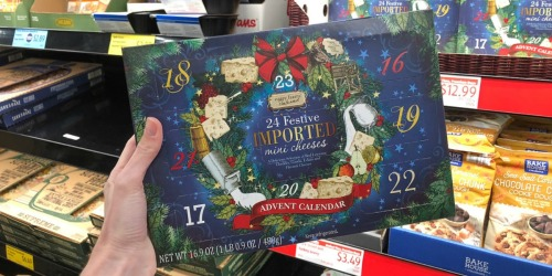 Cheese & Wine Advent Calendars Available at ALDI