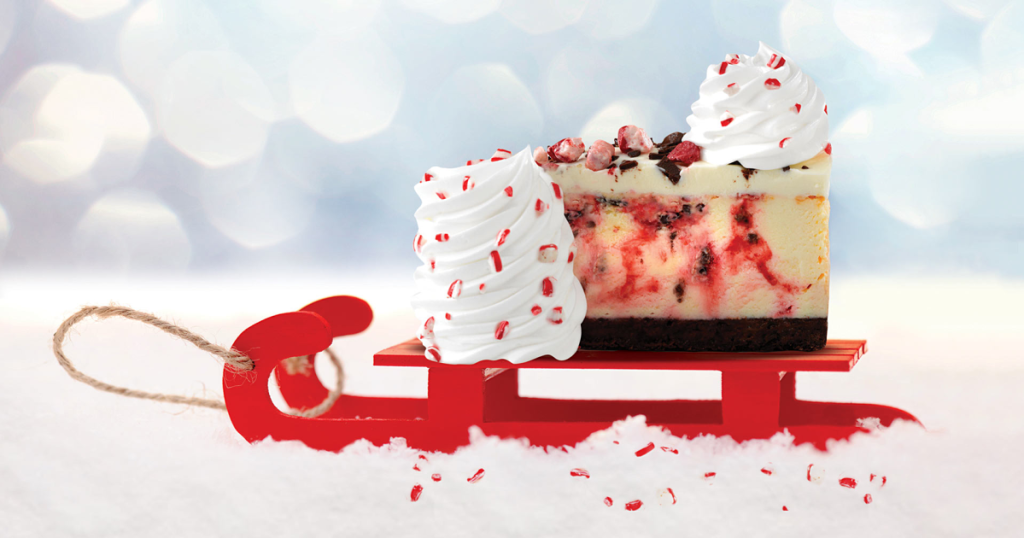Cheesecake Factory Peppermint Bark Cheesecake