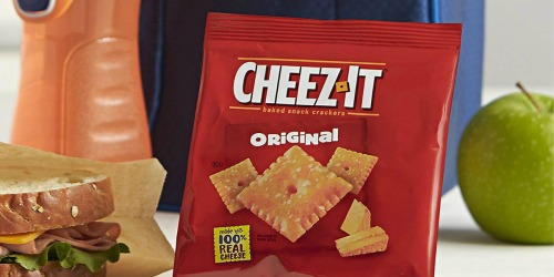 Amazon: Cheez-It Baked Snack Crackers 36-Count Just $6.52 Shipped