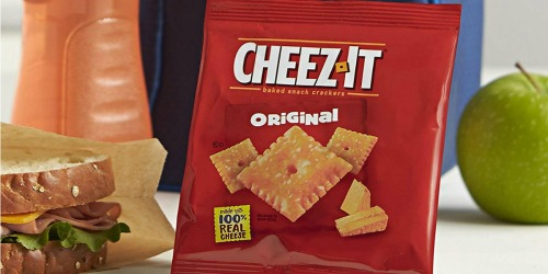 Amazon: Cheez-It Baked Snack Crackers 36-Count Box Only $6 Shipped (Just 17¢ Per Package)