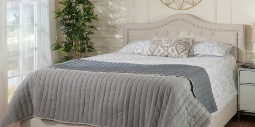 Upholstered Queen Size Bed Only $225 Shipped (Regularly $442) at Target.com