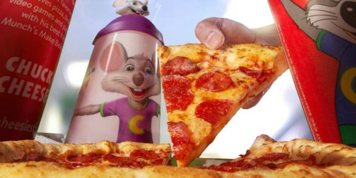 FREE Chuck E. Cheese's Personal Pizza (No Purchase Required)