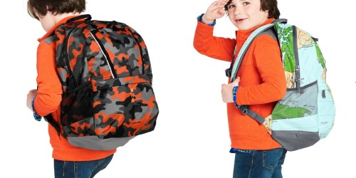 Lands' End ClassMate Printed Backpacks Just $19.97 (Regularly $40)