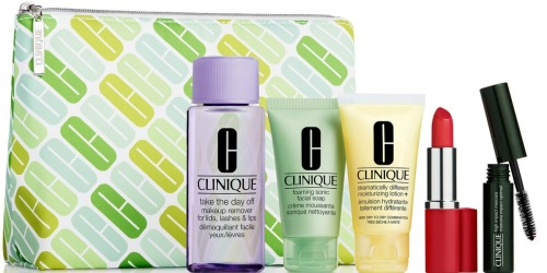 Over $300 Worth of Clinique Products Only $79 Shipped + Get $10 Macy's  Money