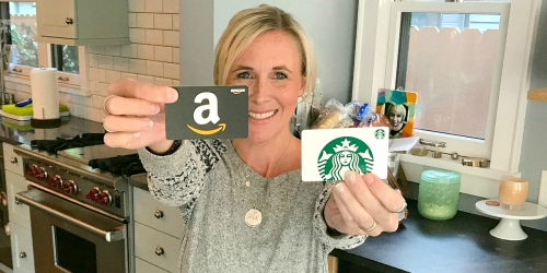 Free $5 Amazon Credit w/ $25 Starbucks eGift Card Purchase
